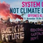 System Change not Climate Change - Einladung zum offenen Klima-Treffen